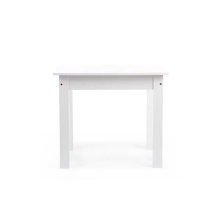 CHILDHOME Holztisch weiß 60 x 48 x 51 cm