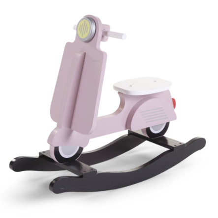 CHILDHOME Scooter a dondolo rosa