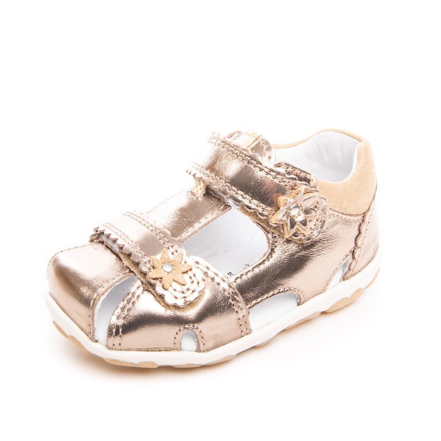 superfit Girl s Sandal Złoto metaliczne Fanni (średnie)