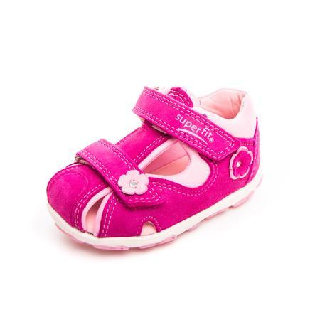 SUPERFIT Sandaalit Fanni Ocean punainen/vaaleanpunainen