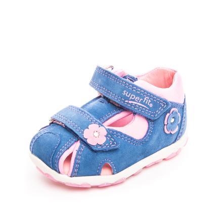 superfit Girl s Sandal Niebieski/różowy Fanni (średnia)
