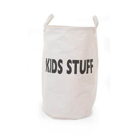 CHILDHOME Panier de rangement Kids Stuff coton