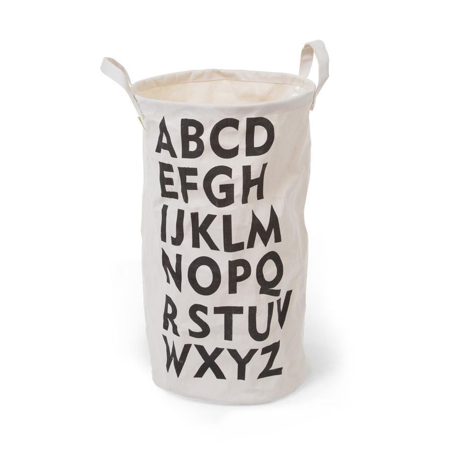 CHILDHOME Panier de rangement alphabet coton