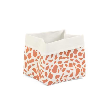 CHILDHOME Aufbewahrungsbox weiß Giraffe 32 x 32 x 29 cm