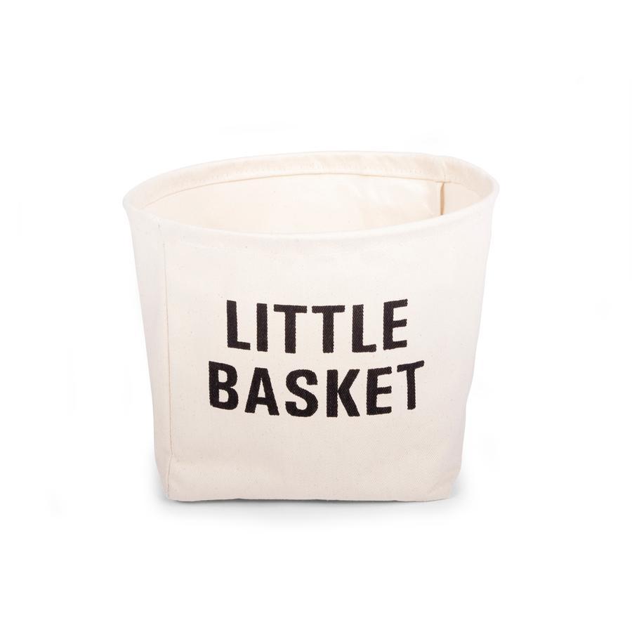 CHILDHOME Kleine mand katoen Kids Little Basket