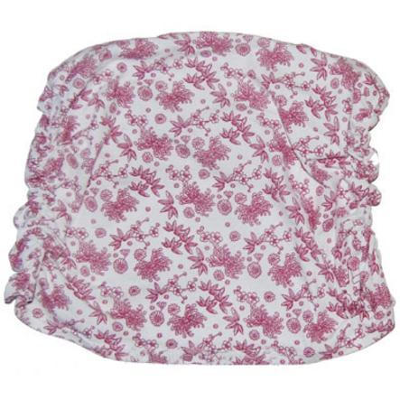 LÄSSIG Těhotenský břišní pás se vzorem, nařasený - Berry flower