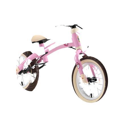 """bikestar Bicicletta senza pedali 12"""", Unicorno rosa"""