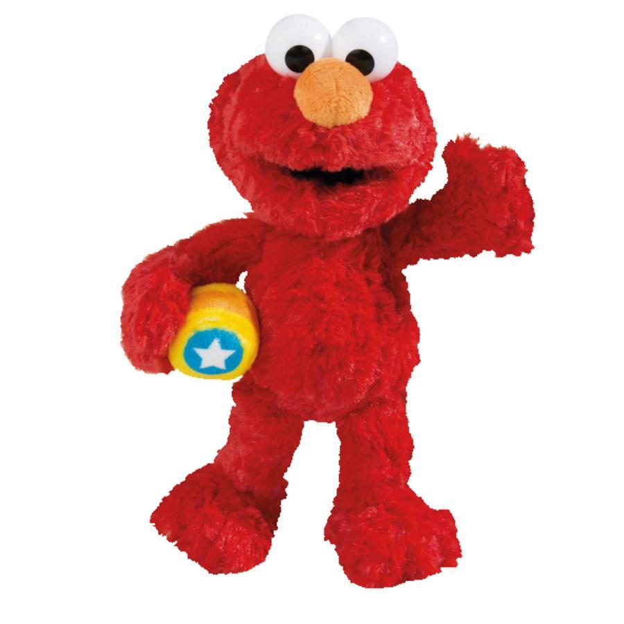 NICI  Sesame Street Kosebamse Monster Elmo 25 cm Dingle 41957