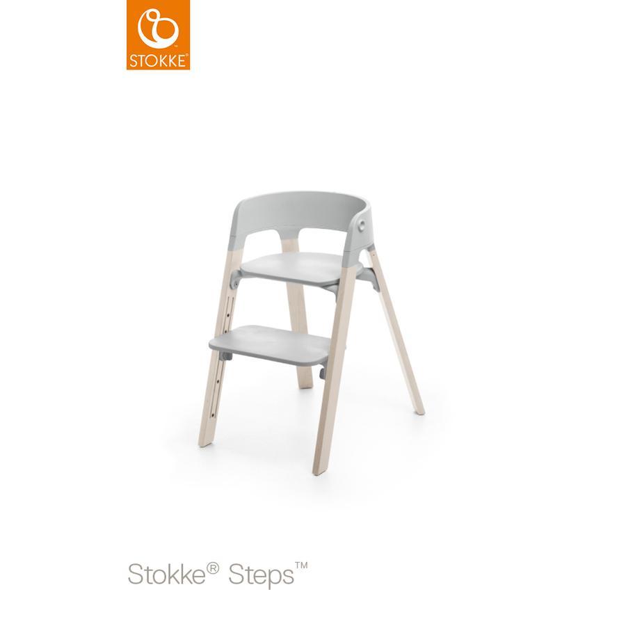 STOKKE® Steps™ Hochstuhl grau Buche White Wash