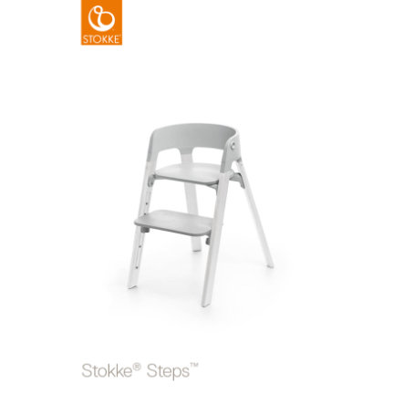 STOKKE® Steps™ Hochstuhl grau Eiche white