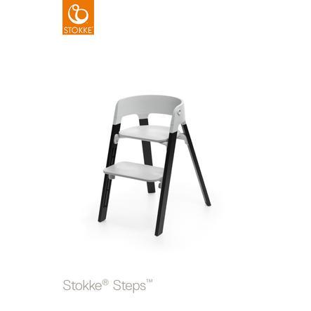STOKKE® Steps™ Hochstuhl grau Eiche black