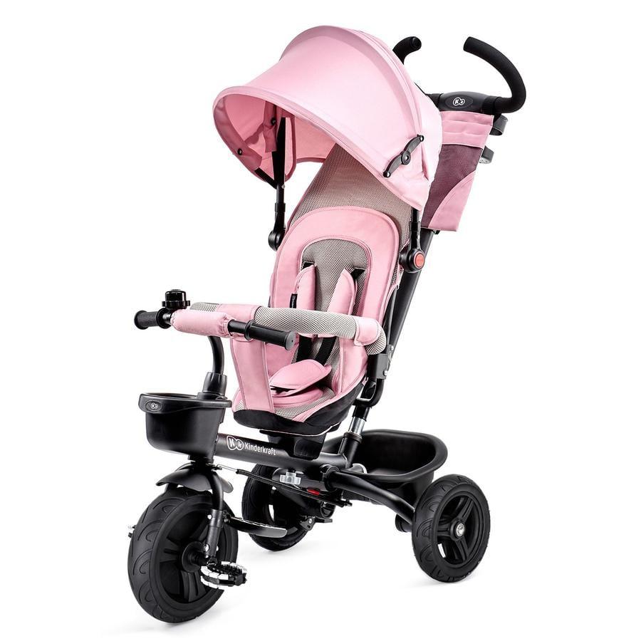 Kinderkraft 6 v 1 tříkolka Aveo, pink