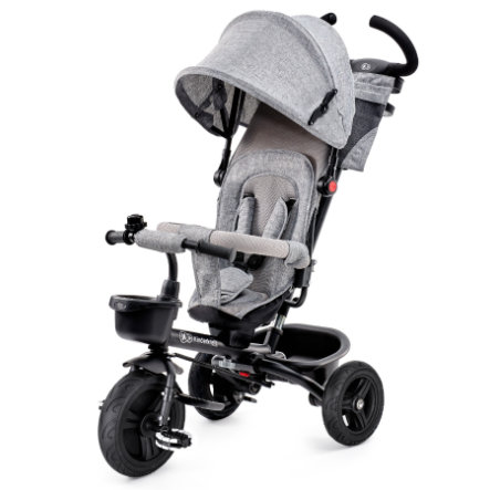 Kinderkraft Tricycle évolutif enfant 6 en 1 Aveo, gris