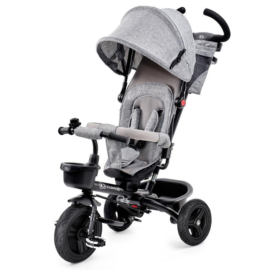 Kinderkraft Tricycle évolutif 6 en 1 Aveo, gris
