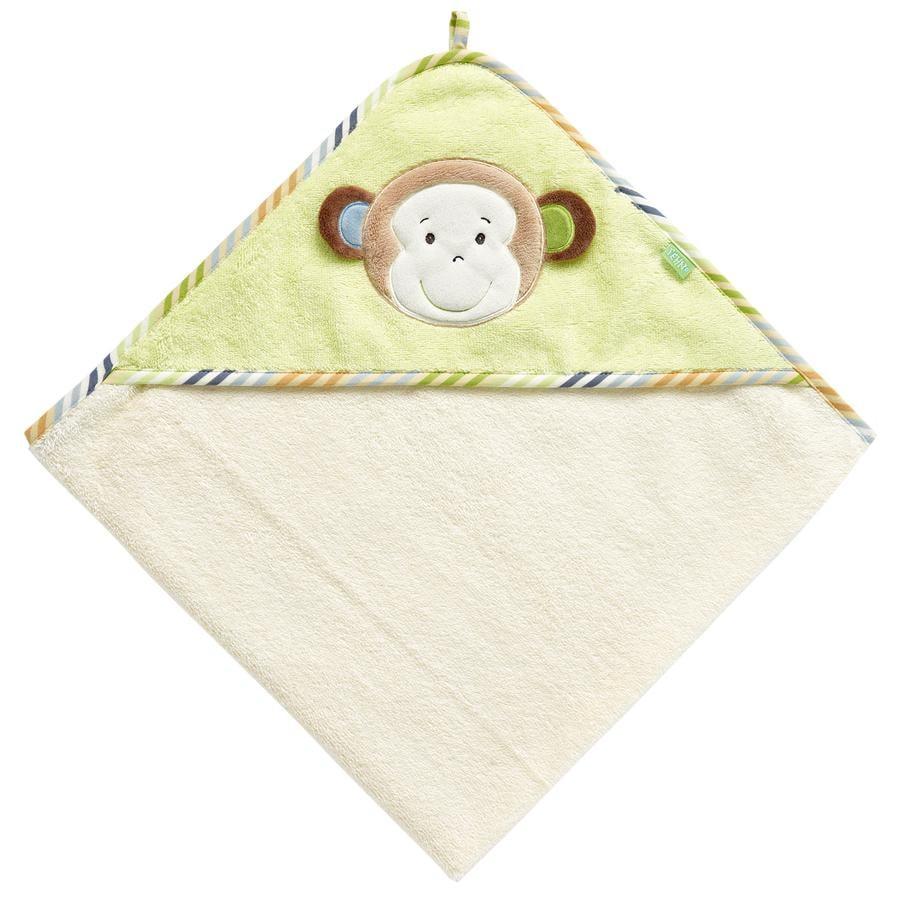 FEHN Monkey Donkey Kapuzen-Badetuch Affe