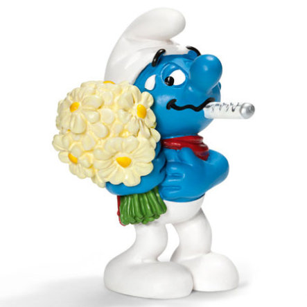 SCHLEICH Get well soon Smurf 20752