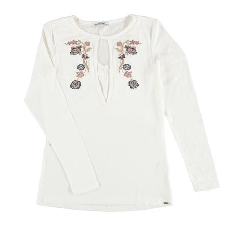 LOVE2WAIT Verpleegster Shirt Borduurwerk Off White
