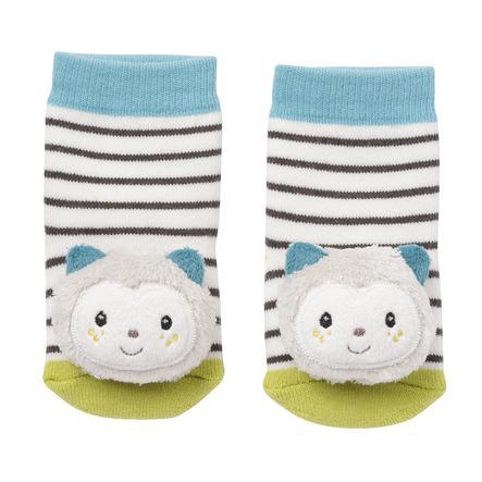 fehn® ponožky s chrastítkem kočička Aiko&Yuki