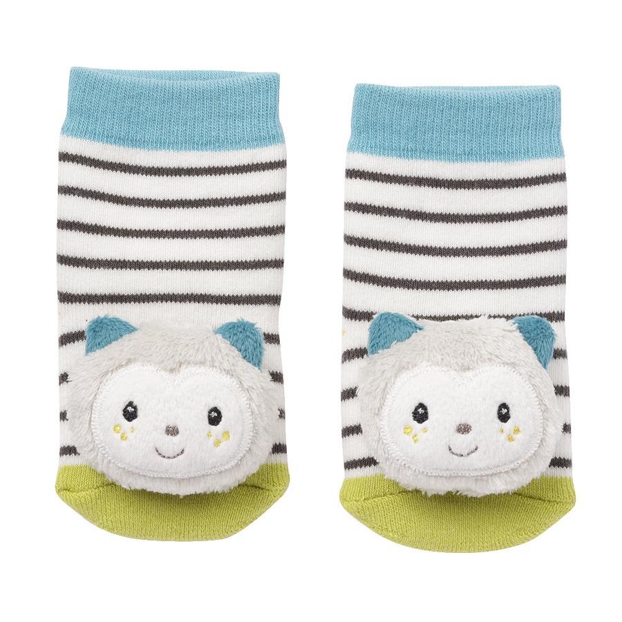 fehn® Rasselsocken Katze Aiko&Yuki
