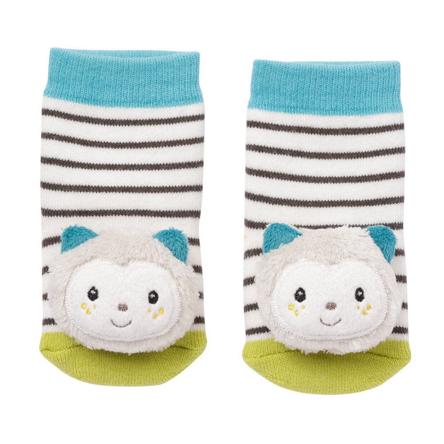 fehn ® Rattle sokker kat Aiko&Yuki