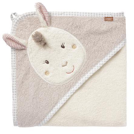 fehn® Ręcznik do kąpieli z kapturem Lama Peru