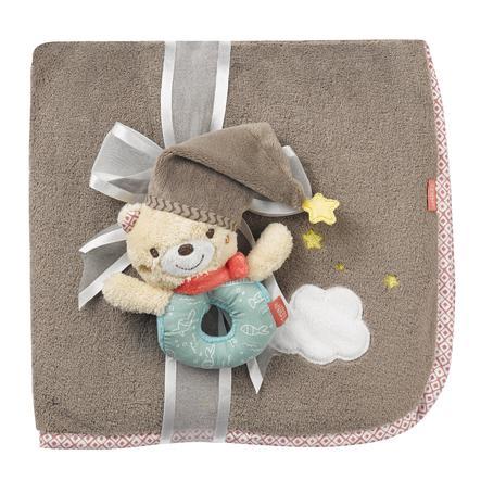 Babysun Couverture bébé ourson Bruno 100x75 cm