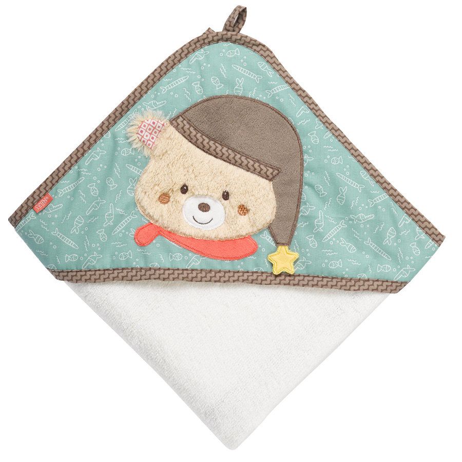 Babysun Poncho de bain enfant ourson Bruno
