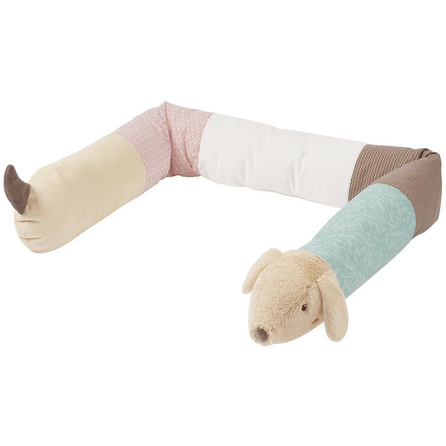 Babysun Tour de lit traversin enfant teckel Bruno 180 cm