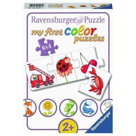 Ravensburger Mijn first color Puzzels - Al mijn kleuren