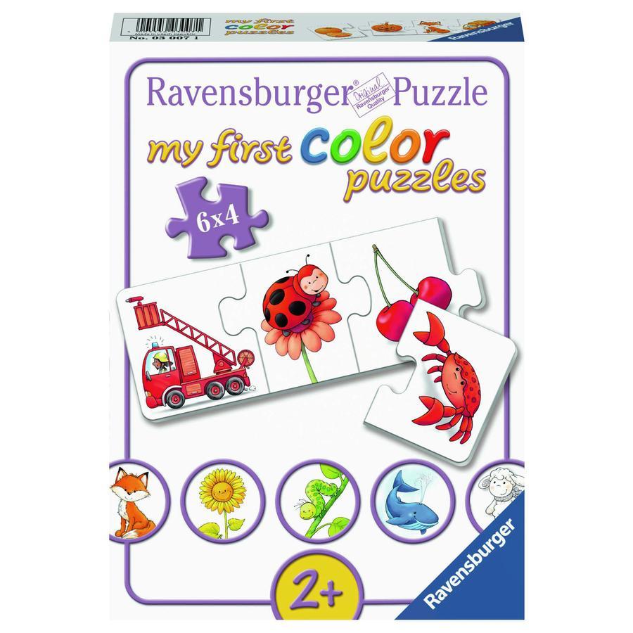 Ravensburger Moje první barevné hádanky - všechny mé barvy