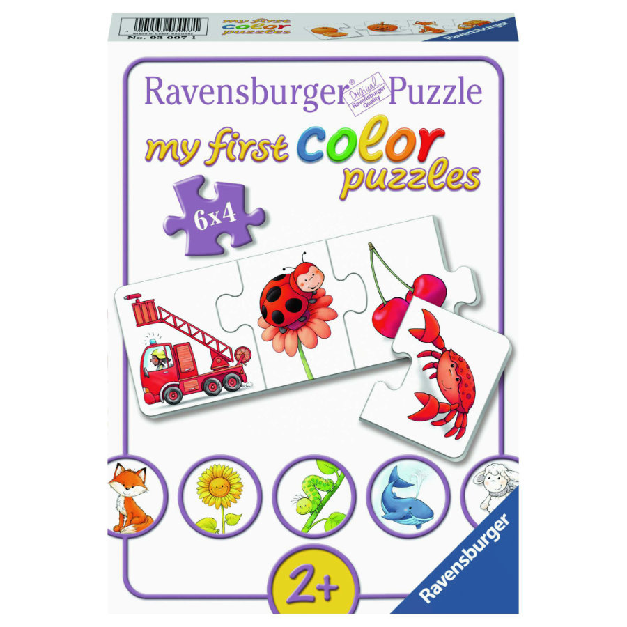 Ravensburger My first color Puzzles - Alle meine Farben