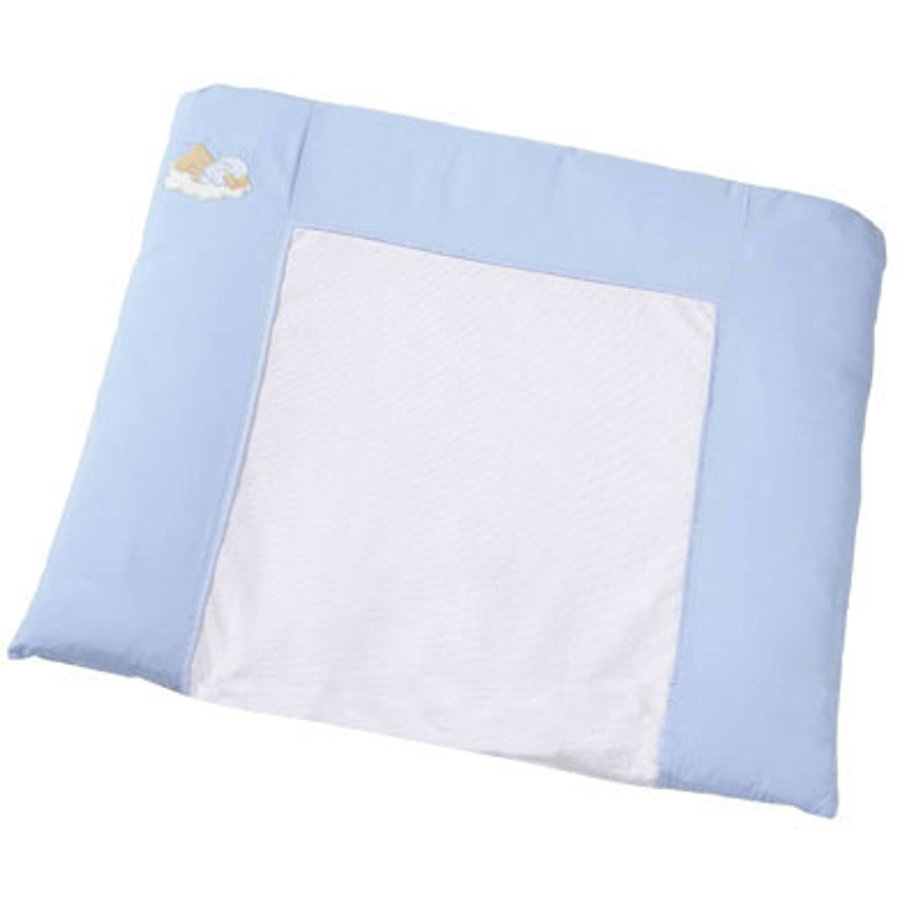 Easy Baby Matelas à langer tissu Sleeping bear bleu (440-81)