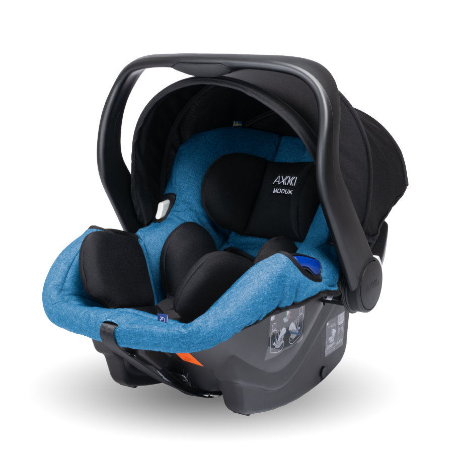 AXKID Modukid Infant i-Size babybilstol - petrol