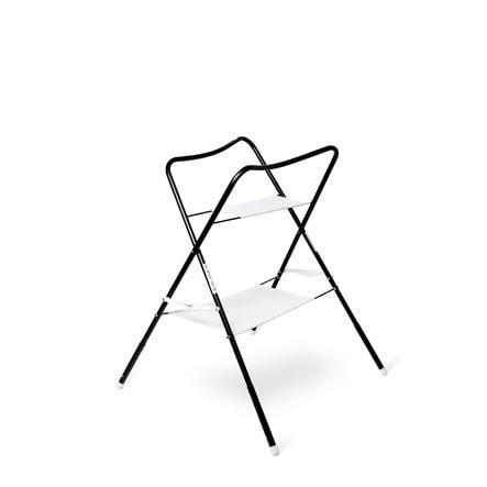 bieco Badewannenständer lulu weiß und schwarz 100 cm