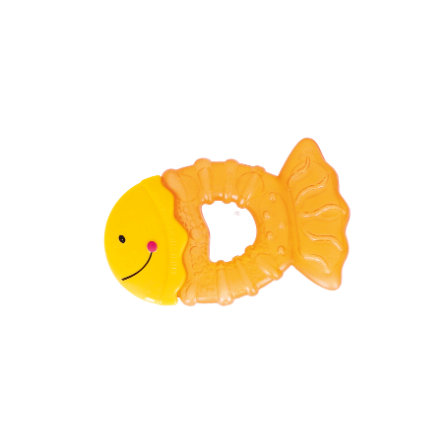 bieco Anneau de dentition réfrigérant poisson 6 m+ orange