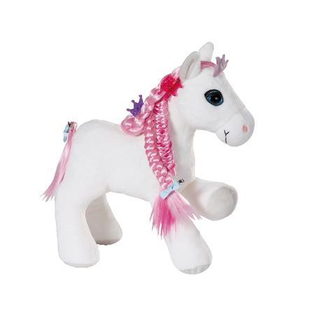 NICI Soulmates Princess Styling Pferd mit Zubehör und Sound 30 cm 44225