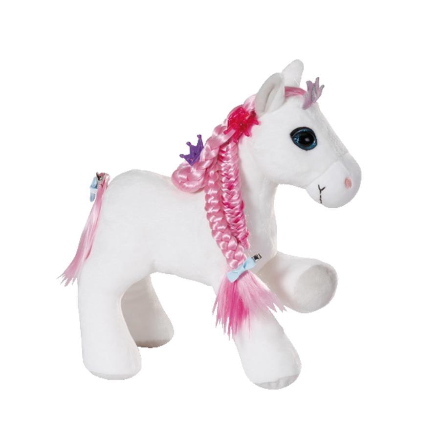 NICI Peluche cheval Soulmates Princess Styling, sons, accessoires 30 cm 44225