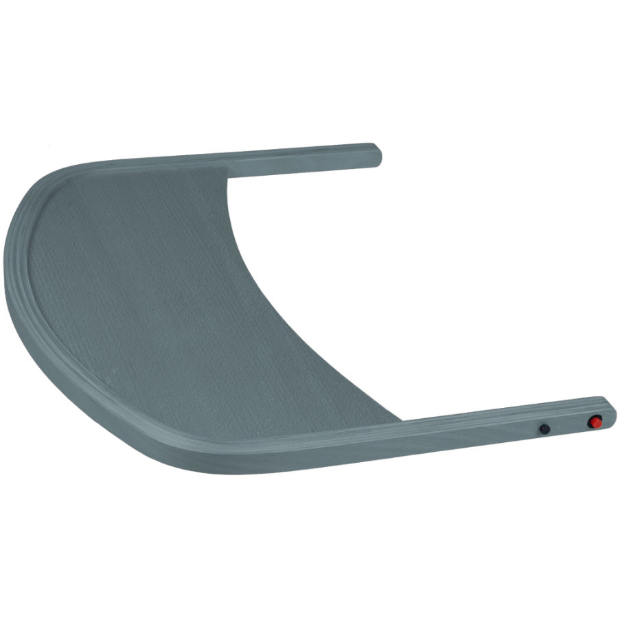 babyGO Tablette pour chaise haute bébé Family, Family XL bois gris