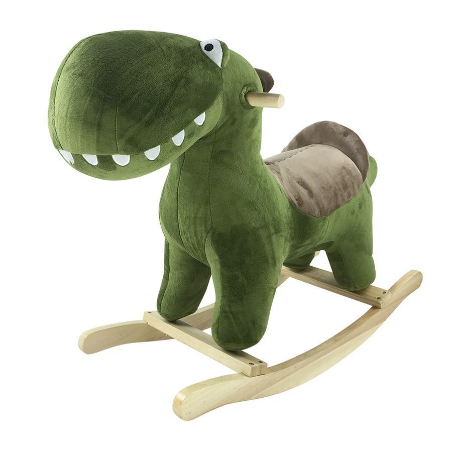 knorr® hračky houpací zvíře Dino Karl zelená