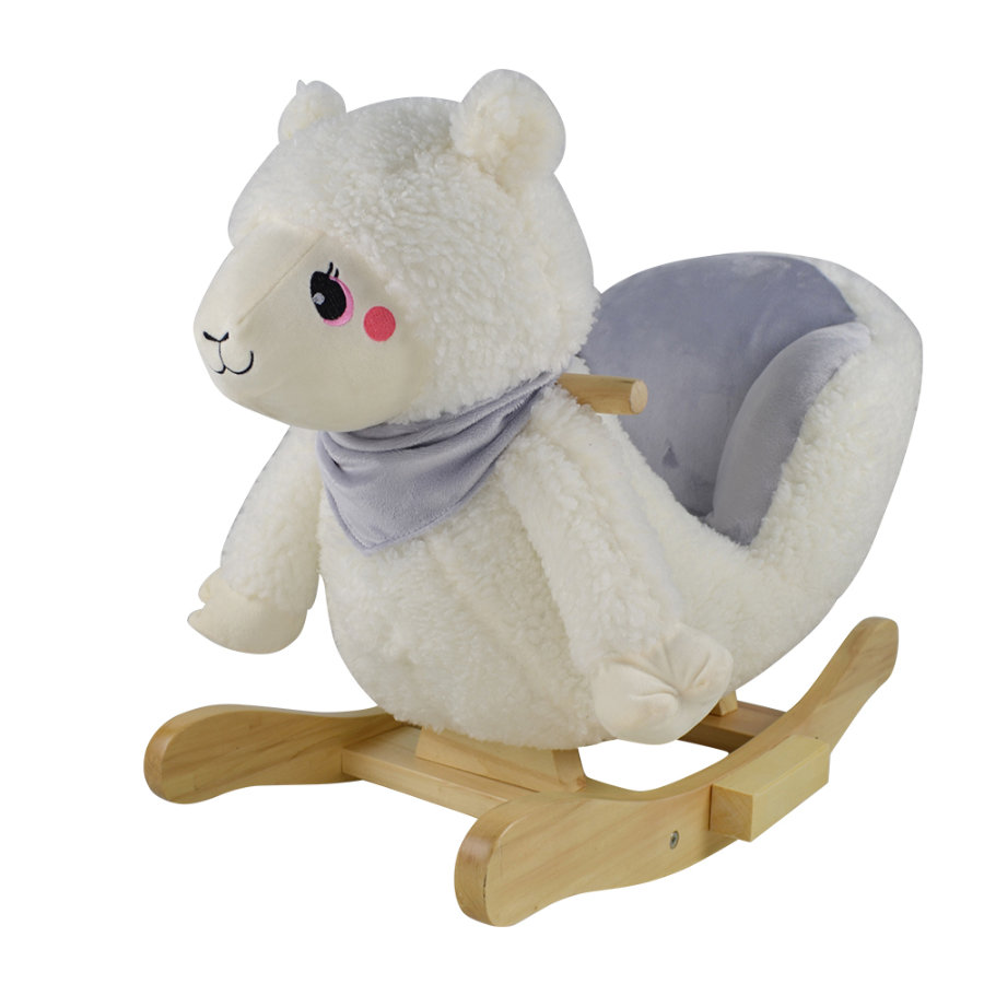 knorr® toys Animal à bascule lama Milly bois
