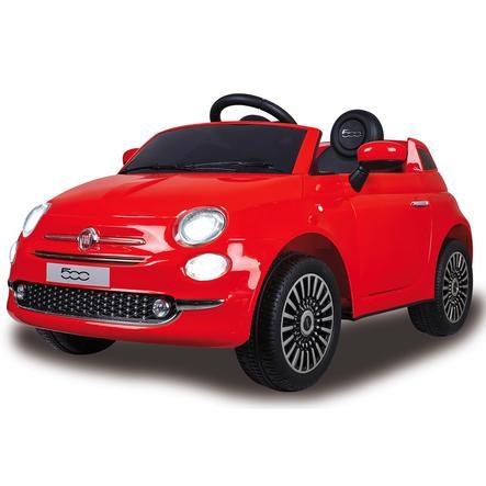 JAMARA Voiture électrique enfant Ride-on Fiat 500 rouge 12V