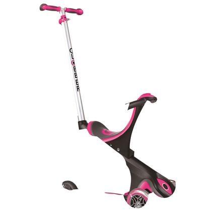 Globber Trottinette enfant 3 roues évolutive Evo Comfort 5en1, rose