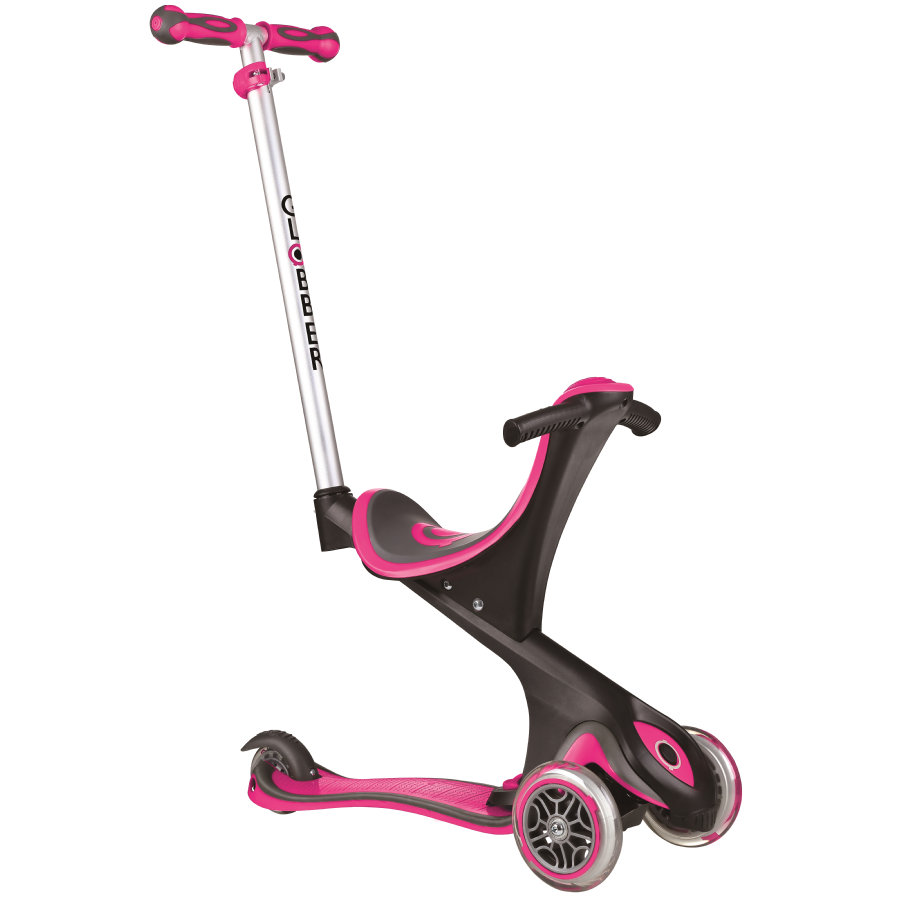 AUTHENTIC SPORTS Step, Globber Evo Comfort 5 in 1, roze