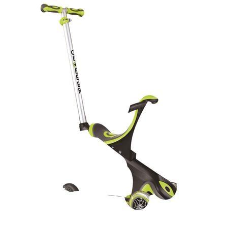 Globber Trottinette enfant 3 roues évolutive Evo Comfort 5en1, vert