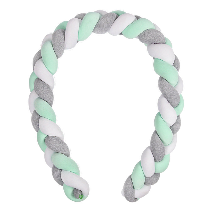 LULANDO Petikäärmepehmuste Harmaa/Minttu/Valkoinen 300 cm