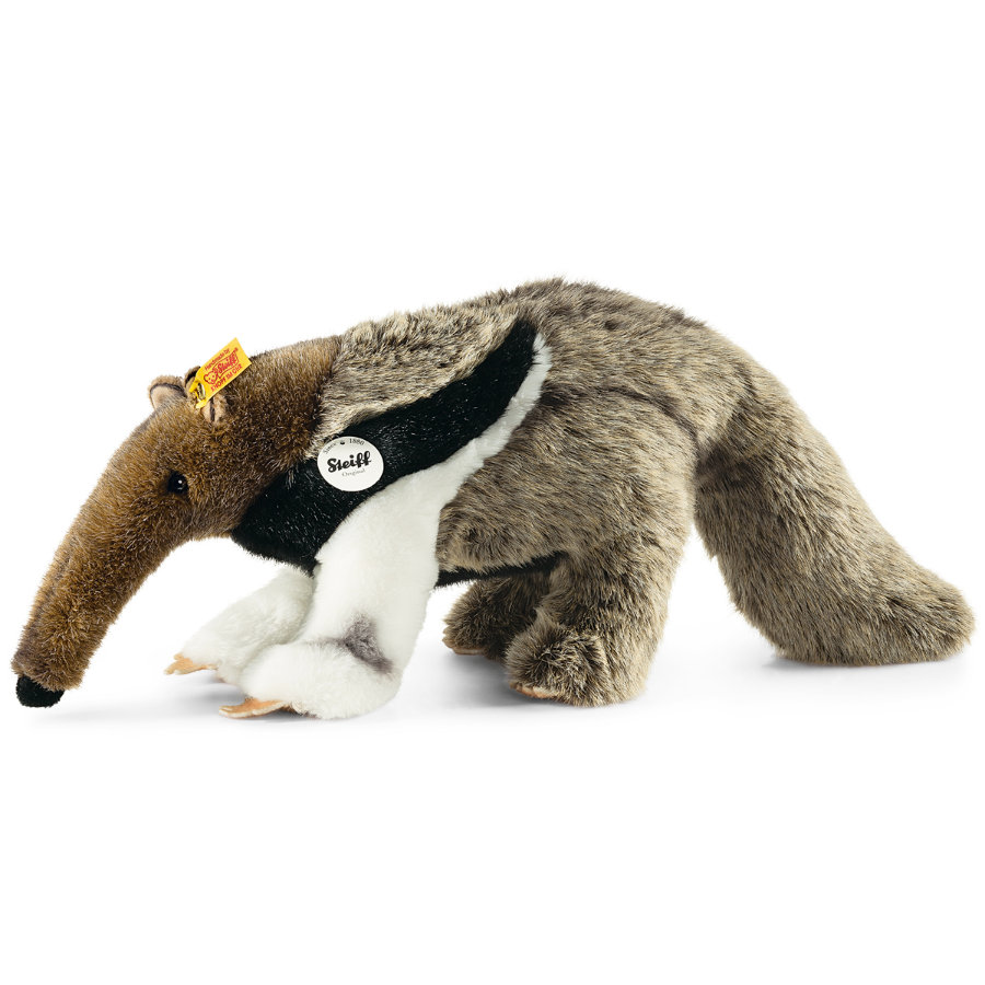 STEIFF Anteater Andy, 35 cm grey and brown