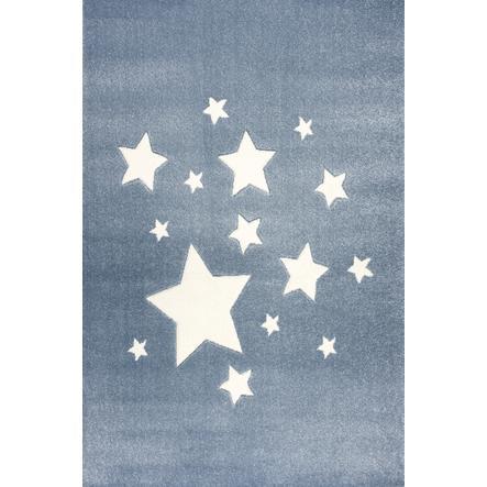 ScandicLiving Carpet stjerner blå, 120x180 cm