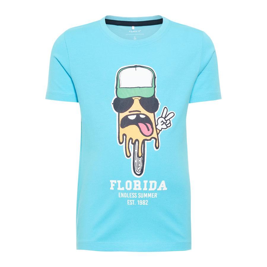 name it Boys T-Shirt Pako bouton célibataire