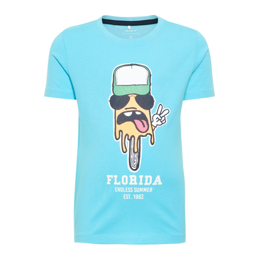 name it Boys T-skjorte Pako bachelor-knapp