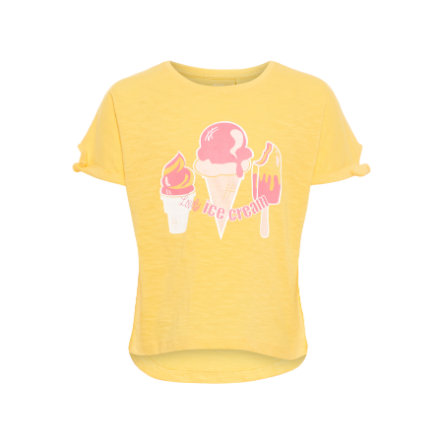 name it Girl s T-Shirt Veet Pale Mariegold.